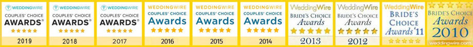 WeddingWire Bride's Choice Award