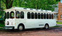 Wedding Trolleys, Buses, Limos up to 28 passengers!
